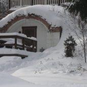 Maakellari talviasussa